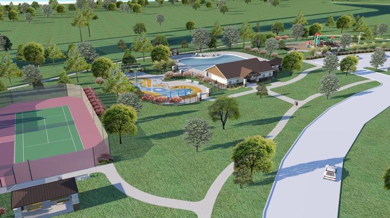 Trails of Katy Amenities - Tennis Courts